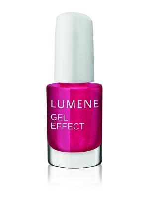 Лак для ногтей с гелевым эффектом Lumene / №62 Королева вечеринки, 5 мл. Цвет: малиновый