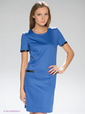 Платье LuAnn. Цвет: лазурный