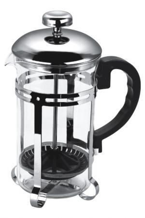 Чайник, кофейник 350 мл Bekker. Цвет: серебро