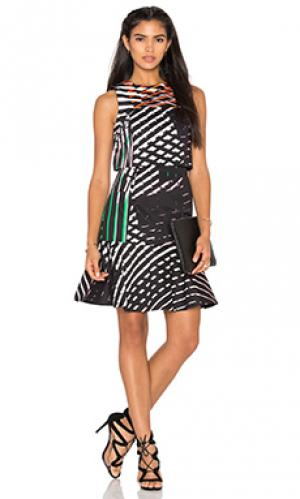 Платье the mana TY-LR. Цвет: черный