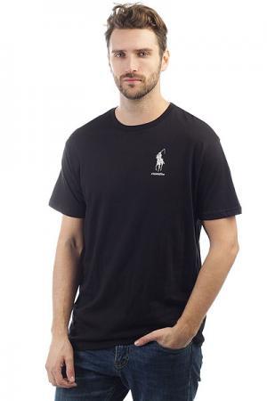 Футболка  Polo Reaper Black Foundation. Цвет: черный