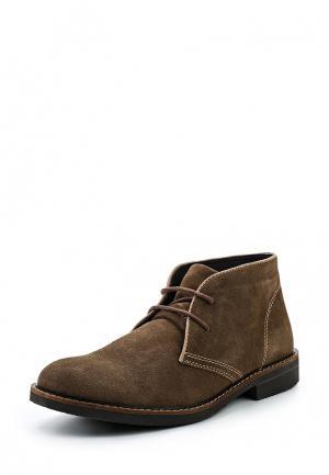 Ботинки Road 3. Цвет: коричневый