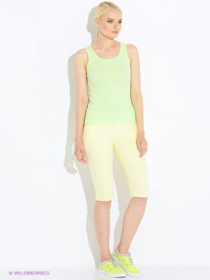 Капри Modis. Цвет: светло-зеленый, светло-желтый