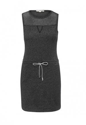 Платье Softy. Цвет: серый