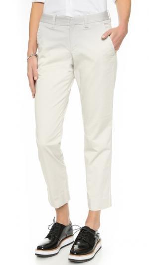 Твиловые брюки AYR. Цвет: камень