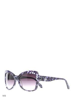 Солнцезащитные очки VW 832S 03 Vivienne Westwood. Цвет: синий