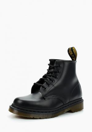 Ботинки Dr. Martens 6 Eyelet Boot Z Welt Dms Sole. Цвет: черный