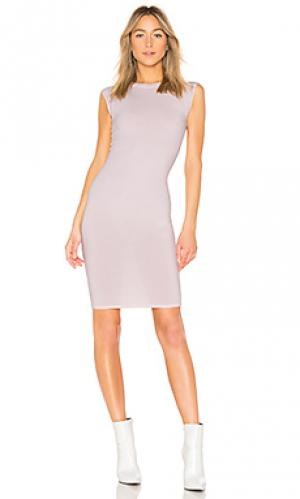 Платье миди obi LA Made. Цвет: розовый