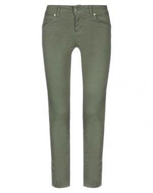 Повседневные брюки FLY GIRL. Цвет: зеленый-милитари