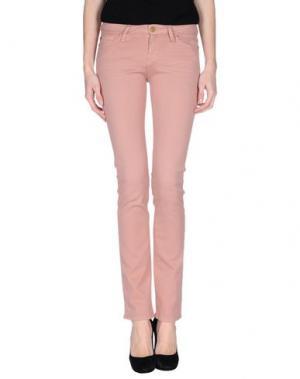 Джинсовые брюки ACQUAVERDE. Цвет: телесный