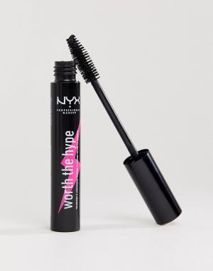 Придающая объем тушь для ресниц Worth Hype-Черный цвет NYX Professional Makeup