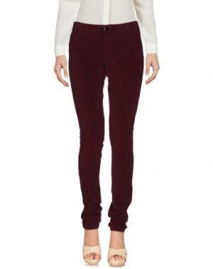 Повседневные брюки 75 FAUBOURG. Цвет: баклажанный
