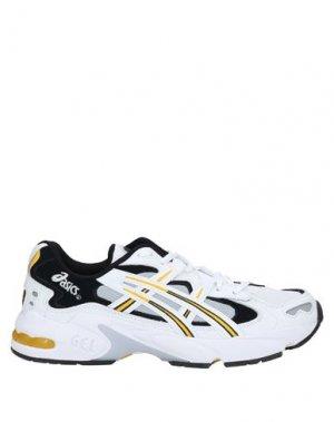 Кеды и кроссовки ASICS. Цвет: белый