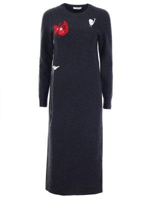 Шерстяное платье CELINE