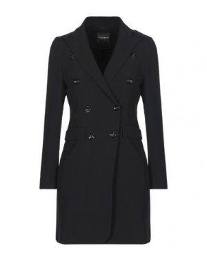 Легкое пальто ATOS LOMBARDINI. Цвет: черный