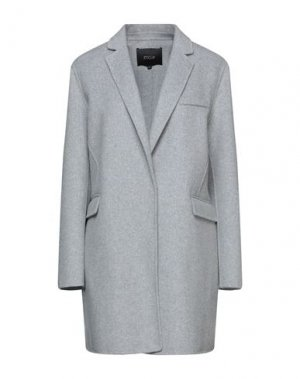 Пальто MAJE. Цвет: светло-серый