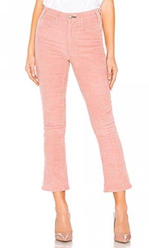 Укороченные расклешенные брюки gainsbourg MCGUIRE. Цвет: розовый