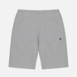 Мужские шорты Long Bermuda Brushed Fleece Champion Reverse Weave. Цвет: серый