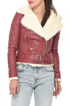 Jacket Isaco & Kawa. Цвет: vinous
