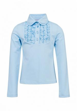 Блуза Красавушка. Цвет: голубой