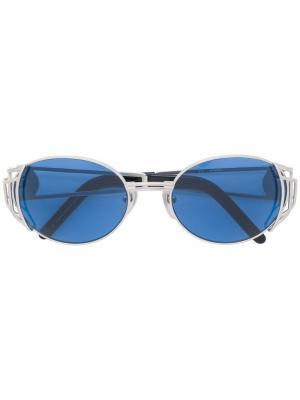 Овальные солнцезащитные очки Jean Paul Gaultier Pre-Owned. Цвет: золотистый