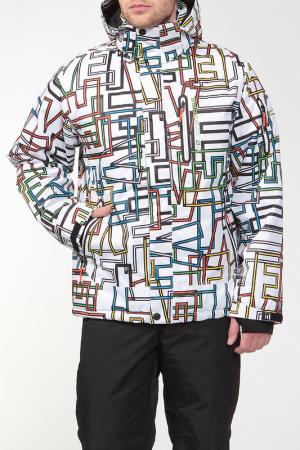 Куртка Five seasons. Цвет: цветной принт