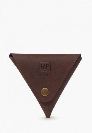 Кошелек Reconds Triangle. Цвет: коричневый