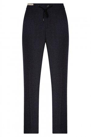 Серые классические брюки со стрелками Berwich. Цвет: multicolor