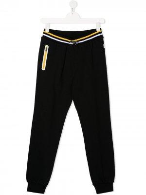 Спортивные брюки с карманом на молнии Paul Smith Junior. Цвет: черный