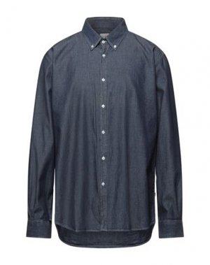 Джинсовая рубашка BARBOUR. Цвет: синий