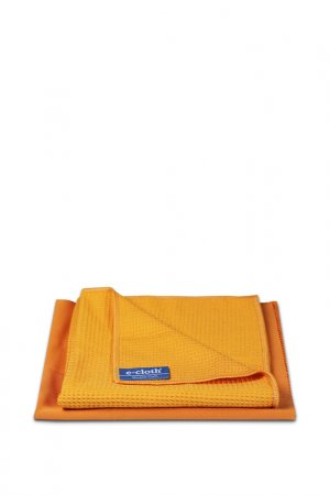 Набор салфеток для мытья окон E-Cloth. Цвет: оранжевый