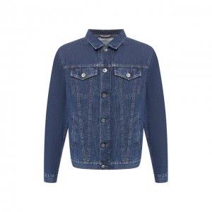 Джинсовая куртка Brunello Cucinelli. Цвет: синий
