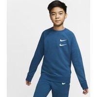 Свитшот из ткани френч терри для мальчиков школьного возраста Nike Sportswear Swoosh