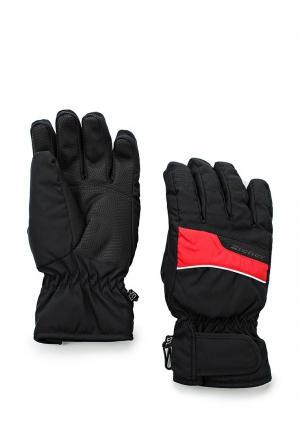 Перчатки горнолыжные Ziener GALDAR SM. Цвет: черный