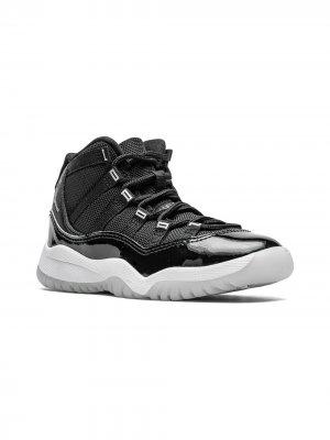 Высокие кроссовки Air Jordan 11 Retro PS Kids. Цвет: черный