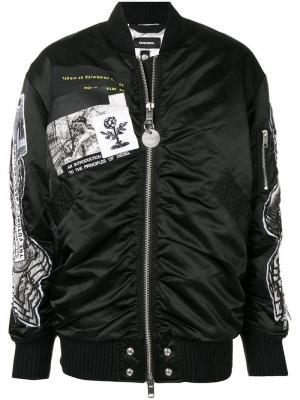 Куртка-бомбер G-Krista-C Diesel. Цвет: черный