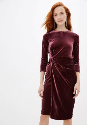 Платье Banana Republic. Цвет: бордовый