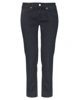 Джинсовые брюки-капри ATELIER NOTIFY. Цвет: синий