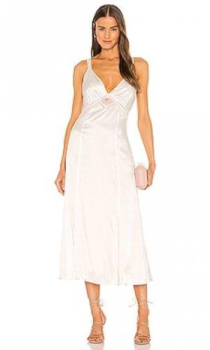 Платье seala Hansen + Gretel. Цвет: светло-бежевый