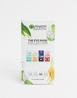 Набор увлажняющих масок для кожи вокруг глаз Moisture Bomb Eye Sheet Mask Collection-Бесцветный Garnier