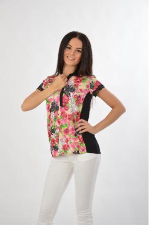 Рубашка VDP VIA DELLE PERLE. Цвет: разноцветный