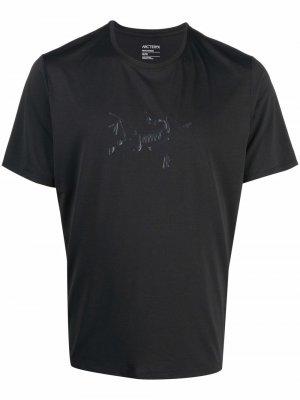 Arcteryx футболка Cormac с логотипом Arc'teryx. Цвет: черный