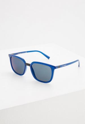 Очки солнцезащитные Dolce&Gabbana DG6114 257896. Цвет: синий