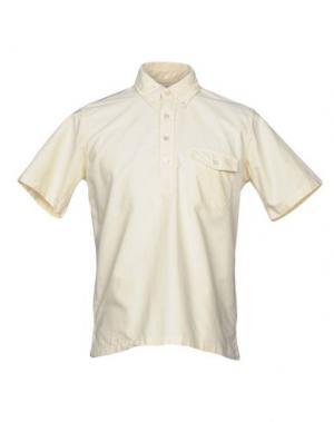 Pубашка BATTENWEAR. Цвет: светло-желтый
