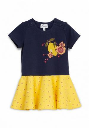 Платье Ёмаё. Цвет: синий