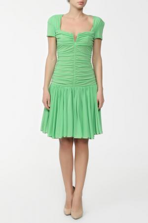 Платье Gio Guerreri. Цвет: зеленый