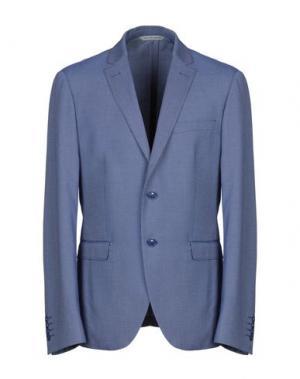 Пиджак MANIFATTURA DI GENOVA. Цвет: синий