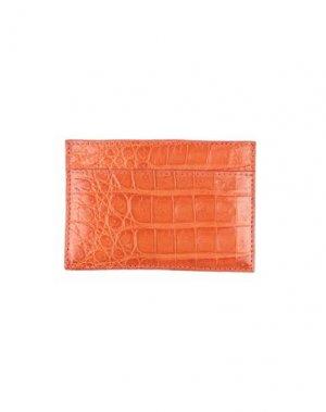 Чехол для документов SANTIAGO GONZALEZ. Цвет: оранжевый