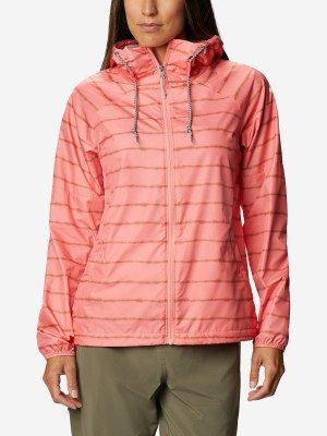 Ветровка женская Side Hill™, размер 48 Columbia. Цвет: розовый