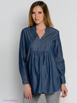 Блузка Isabella Oliver. Цвет: синий